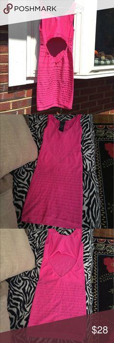 Bebe pink dress Sexy and nice summer pink dress bebe Dresses Mini