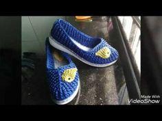 Tutorial cara merajut sepatu bag.2