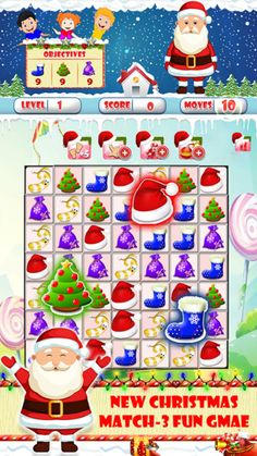 https://itunes.apple.com/us/app/christmas-match-3-deluxe-for/id1179423806 #sweeper #christmas #christmasmatch3 #santa'schimney #christmascrush #christmascookies #match3 #ginger #match 3