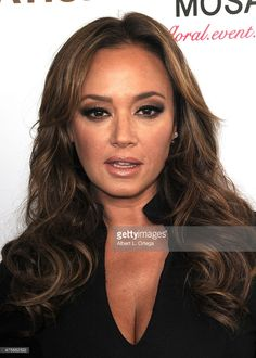 Leah Remini arrives for the Viva Glam Issue Launch Party Hosted by cover girl Leah Remini held at Riviera 31 on June 2, 2015 in Beverly Hills, California.