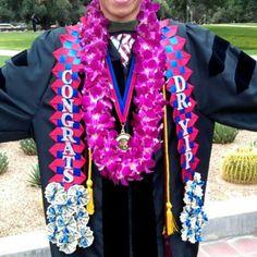 Graduation sash/stole/money lei