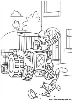 Bob the Builder coloring pages on Coloring-Book.info ...
