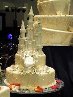Fairy Tale Disney Cinderella Castle Wedding Cake Get In My Belly Pinterest And Weddings