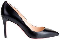 Louboutin Pigalle 85 mm leather….. mmmmmmmmm