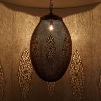 Messinglampe Soraya  #OrientalischeLampe #Marokkanischelampe #Silberlampe #Casamoro #Marrakesch #Orient