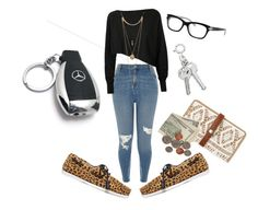 """""""Late Night Drive✨"""" by angeliqueamor on Polyvore featuring Mercedes-Benz, River Island, Topshop Unique, Kate Spade, Aéropostale, Crea Concept and Forever 21"""