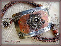 Viking Knit Cuff Bracelet by Diana Frey, via Flickr
