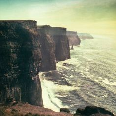 Cliffs of Moher in Ireland. No photo can do this place justice!