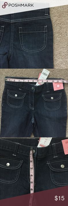 🆕 Gymboree Flare Jean KIDS Adjustable waist. Machine wash cold. 99% cotton, 1% spandex. Gymboree Bottoms Jeans