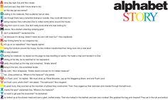 E is for Explore!: Alphabet Story