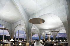 Biblioteca da Universidade de Arte de Tama / Toyo Ito por Iwan Baan