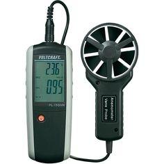 VOLTCRAFT® PL-130 AN Anemometer 0.40 - 30.00 m/s