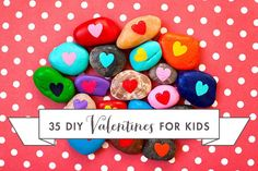 35 DIY Valentines for Kids - edible valentines, toy valentines, valentines for boys and more!