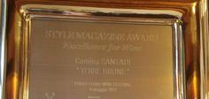 """La redazione di Style, magazine del Corriere della Sera, ha assegnato al Terre brune 2007 della Cantina Santadi il riconoscimento """"Excellence for Wine"""" quale miglior vino italiano presente al Porto Cervo Wine Festival 2012."""
