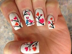 Valentine's Day Nails - Pink Nails Vegas