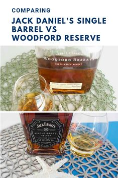 A side by Side comparison of these two American greats. Jack Daniel's Single Barrel vs Woodford Reserve Bourbon Whiskey