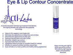 Eye& Lip Contour Concentrate