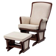 TARGET = $199.99 No recline Delta Children Haven Glider and Ottoman Set - Espresso Truffle