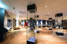 The iconic finds of Coppergate, the beautiful replica of the Middleton Cross, Viking weapons and treasure from the British Museum, The York Helmet – There certainly is plenty to explore in the artefact gallery!