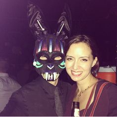 Thx for the #bunnymask inspiration! @JeanGalaxy