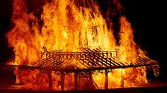 Londýn si připomene výročí Velkého požáru zapálením obřího modelu