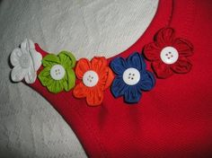 flores de fuxico - Pesquisa Google