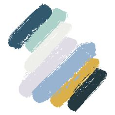 Shapeshifter color palette from the 2019 Sherwin Williams Colormix Color Forecast Blue Colour Palette, Colour Schemes, Color Trends, Neutral Color Palettes, Color Blue, Paint Color Combos, Yellow Paint Colors, Paint Color Palettes, Neutral Colors