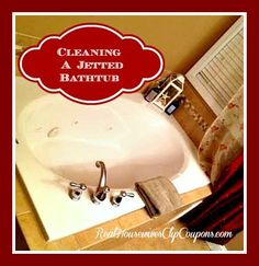 Cleaning A Jetted Bathtub