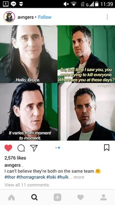 And Loki's voice as he said that? Trying to sound intimidating (and succeeding in doing so). Loved that.