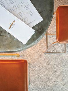 The Katherine Brasserie & Bar, designed by CRÈME
