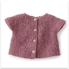 Phildar - Sweater Baby Girl Zephyr - pattern in French