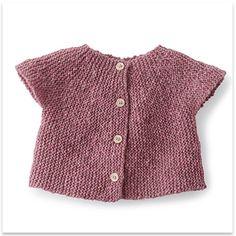 Phildar - Sweater Baby Girl Zephyr - pattern in French