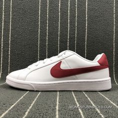 3a39fde7d55 NIKE COURT ROYALE SL 844802-103 White Red Latest