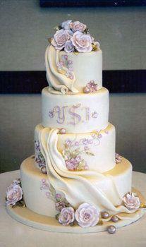 Wedding, Cake, Purple, Beaux gateaux celebration cakes