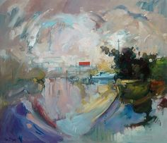 Ken Strong 'Ascention on the Macleay' 90cm x 80cm #14618