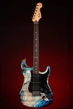Fender Special Edition Swirl Standard Stratocaster HSS Electric Guitar - #MX13345787: Musical Instruments