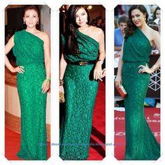 Vestidos verdes martin fierro