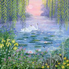 Suffolk Original Paintings For Sale Original Paintings For Sale, Naive Art, Italian Art, People Art, Klimt, Bird Art, Painting Inspiration, Cute Art, Bunt