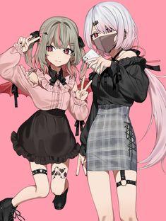 Pretty Anime Girl, Kawaii Anime Girl, Anime Art Girl, Kawaii Art, Anime Chibi, Me Anime, Cute Anime Character, Cute Characters, Anime Characters
