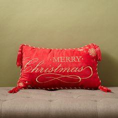 Christmas 2015 Decorative Lumbar Pillow