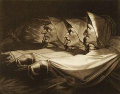Johann Heinrich Füssli (1741-1825). -  Les Trois Sorcières.