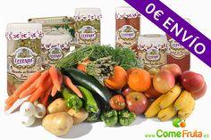 Fruta y verdura fresca y conservas gourmet