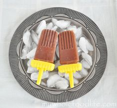 Dairy Free Fudgsicles.  No processed sugars and perfect for summer.  Vegan.