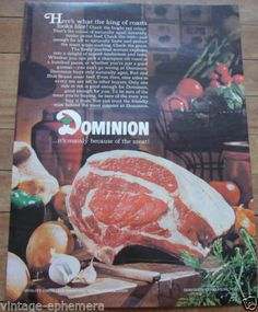 1968 CANADIAN DOMINION GROCERY STORE AD IT'S MAINLY BECAUSE OF THE MEAT CANADA Mall Stores, Retail Stores, 70s Tv Shows, Store Layout, Retro Food, Vintage Restaurant, Store Ads, Corn Hole Game, Retro Recipes