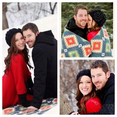 Winter engagement photos ahh I know them :) ya cous!!