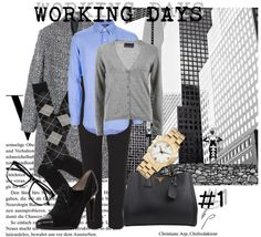 """""""Working Days #1"""" by camilovesfashion on Polyvore"""