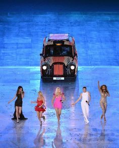 The Spice Girls performing at The Olympics Closing Ceremony!