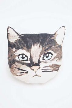 Cat Face Cushion
