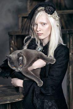 Nastya Zhidkova Victorian goth  http://victorian-goth.tumblr.com/