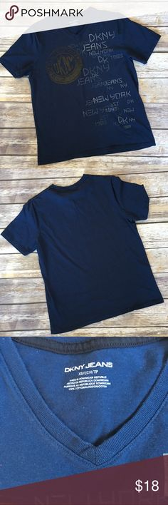 ❗1-DAY SALE❗Men's DKNY V Neck Tee Men's DKNY V Neck Tee size XS DKNY Shirts Tees - Short Sleeve